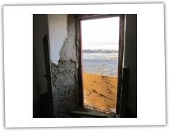 Dveře hrubá omítka